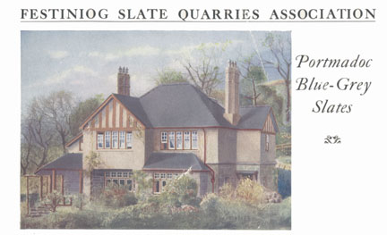 Cover of Ffestiniog Slate Quarries Association booklet