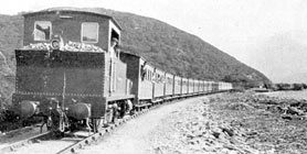 Quarryman'r train at Dinorwig Quarry