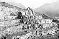 The galleries at Dinorwig Quarries