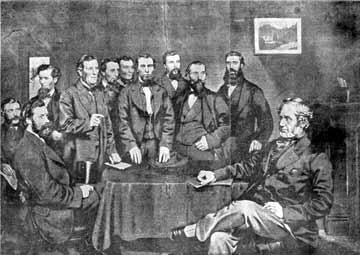Lord Penrhyn meeting Quarrymen's Representatives